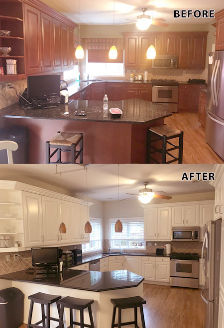 Kitchen Cabinets Painters in Congers, NY