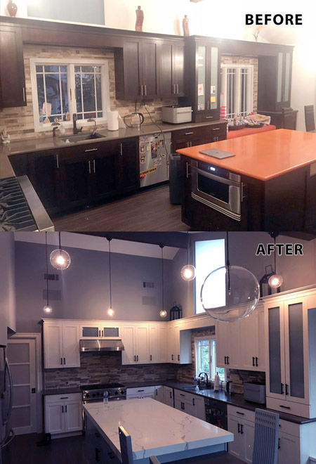 Kitchen Cabinet Painters North Jersey Rockland County Ny