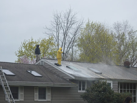 Roof Washing in West Haverstraw, NY - Image